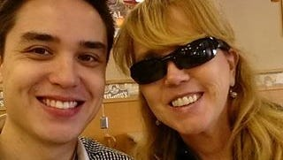Christine Leinenon and her son, Christopher, who died in the Pulse shooting.