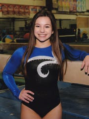 Melissa Ricciardi was league champion in the all-around