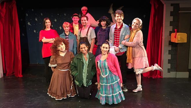 """Cider Mill Playhouse's """"A Charlie Brown Christmas"""" casr"""