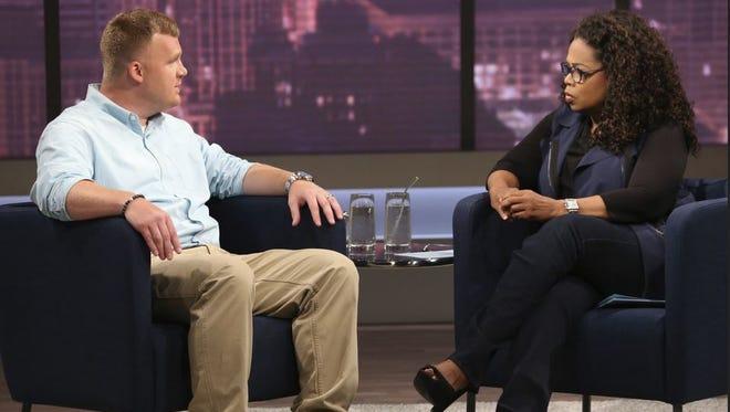 Matt Sandusky talks to Oprah.