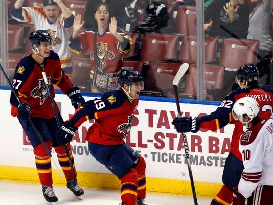 NHL: Arizona Coyotes at Florida Panthers