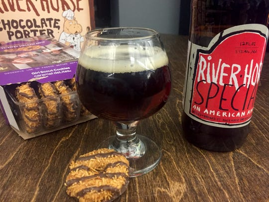 The Caramel DeLight with River Horse Brewing's Special