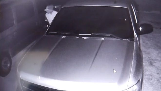 Surveillance footage captured in the 5800 block of N.W. Canada St., Port St. Lucie