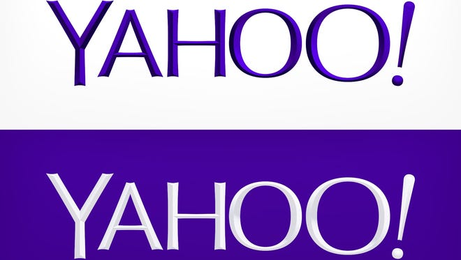 The new Yahoo logo.