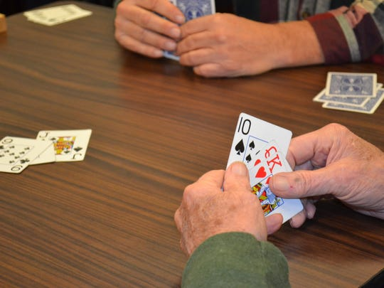 Euchre is a fast-paced but easy to learn card game that hit its peak in the 1950s and 1960s. It is still played twice a month at Ida Rupp Public Library.