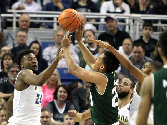 NCAA Basketball: Colorado State at Nevada
