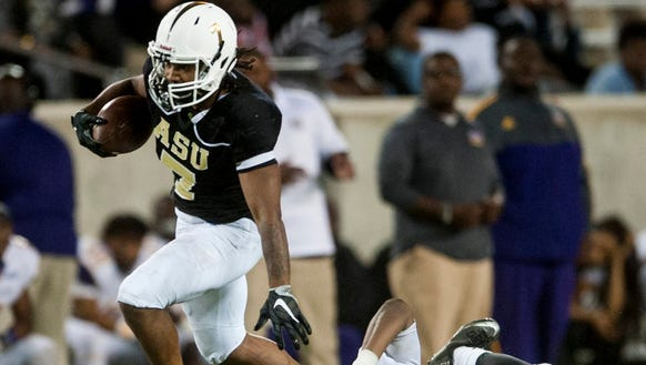 Alabama State looks to replace Khalid Thomas, who finished