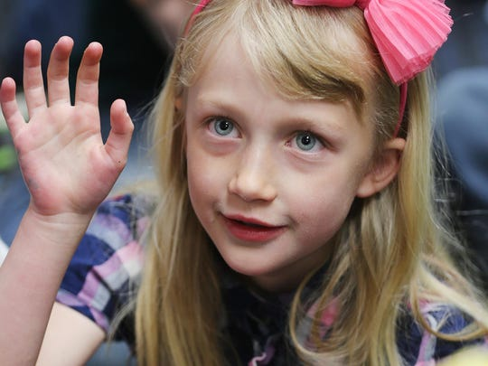 Madeline George had a heart transplant at age 1.