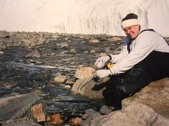Jenny Baeseman did water quality research in Antarctica