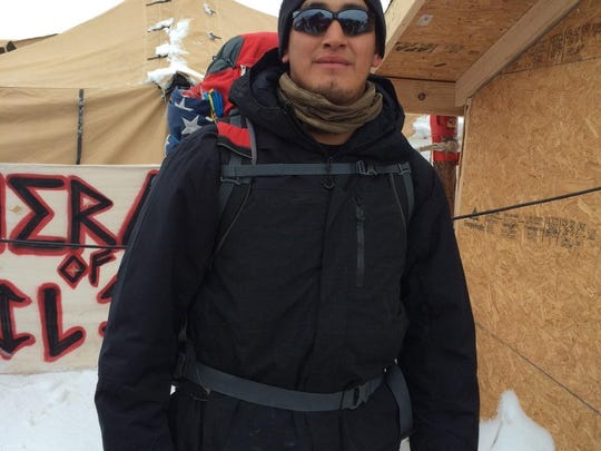 Army vet Chris Turley was one of several thousand veterans who came to Standing Rock this month to protect the water protectors.