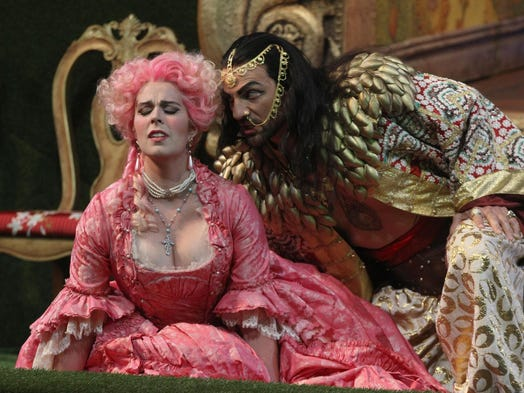 a review of the seraglio an opera by wolfgang amadeus mozart Mozart's the abduction from the seraglio is the opera the emperor supposedly said had, too many notes you can count them yourself in a production from the salzburg festival, in the composer's hometown.
