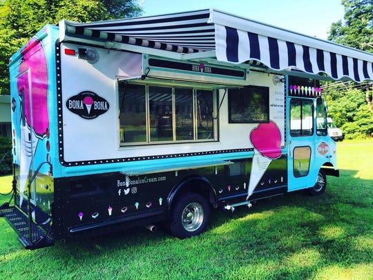 The Bona Bona Ice Cream truck will be available for