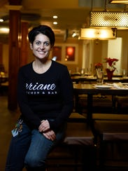 Ariane Kitchen and Bar in Verona. Owner Ariane Duarte.