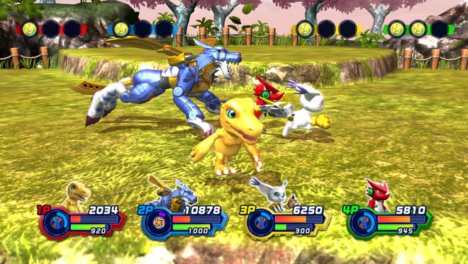 "Digimon make their gaming return in the West with ""Digimon All Star Rumble"" for the PlayStation 3."
