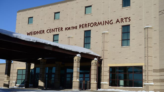 The Weidner Center for the Performing Arts on the UW-Green Bay campus.