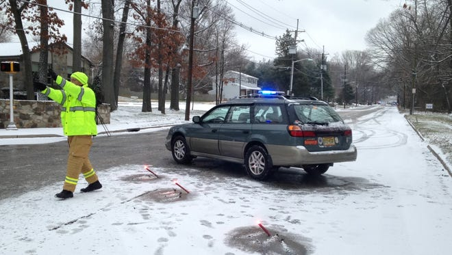 One person died in a five-car accident in Cherry Hill on Tuesday morning, according to scanner reports.