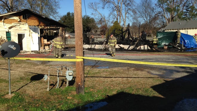 A woman died early Thursday in a fire at her home on Tennessee Street.