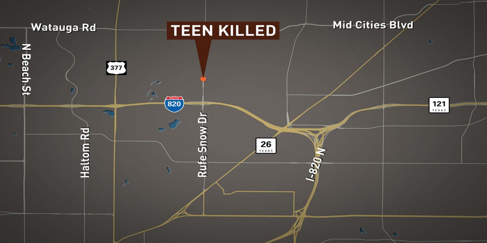 North Richland Hills teen killed in crash