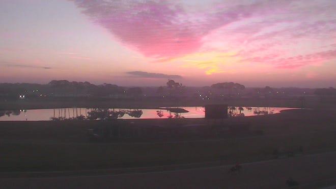 Sunrise at Tampa Bay Downs