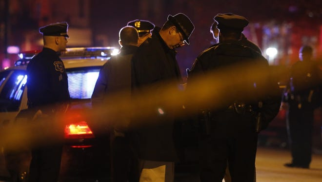 Police investigate the shooting of an 18-year-old who was found with at least one gunshot to the head Saturday near West 21st and North Washington streets in Wilmington.