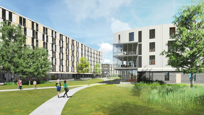 Two more dorms are to be built at Rowan University.
