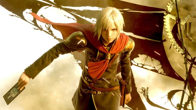 """The card-wielding Ace is one of the members of the elite Class Zero in """"Final Fantasy Type-0 HD."""""""