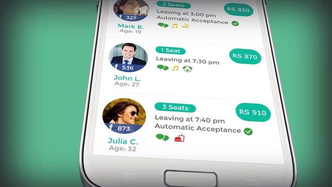 The app Tripda