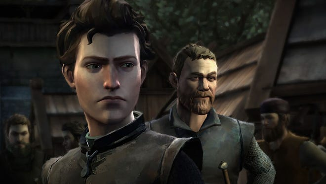 """Telltale Games' """"Game of Thrones Episode 1: Iron From Ice"""" puts you in the role of Stark allies House Forrester."""