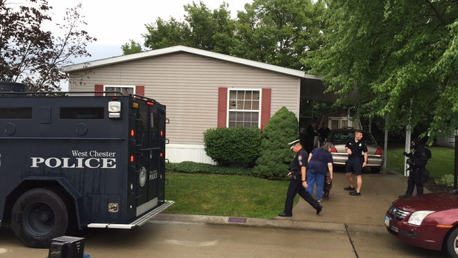 A man was taken into custody on Monday morning after a 15-hour SWAT standoff in West Chester Township.