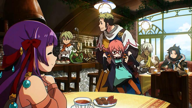 """Building up Regina's cafe in """"Etrian Odyssey 2 Untold: The Fafnir Knight"""" gives you access to all sorts of buffs as well town development and grimoire management."""