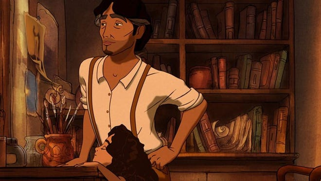 """Salma Hayek produced the animated film version of the stories in the famed 1923 book, """"The Prophet."""""""