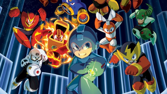"The blue bomber returns to new consoles and PC in all his 8-bit glory in ""Mega Man Legacy Collection."""