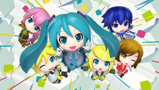 "Virtual idol Hatsune Miku and friends return for rhythm and gaming hijinks in ""Hatsune Miku: Project Mirai DX."""