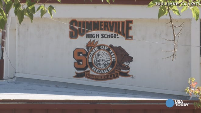 Four students are accused of plotting a shooting at Summerville High School in Tuolumne, California.