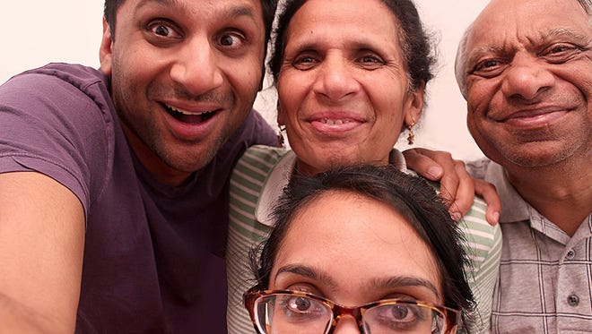 """Ravi Patel (left) looks for a partner that will be a fit for both him and his traditional family in """"Meet the Patels."""""""