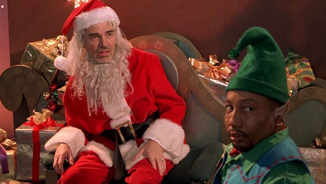 """Bill Bob Thornton is a mall Santa with a drinking problem in the surprisingly sweet """"Bad Santa."""""""