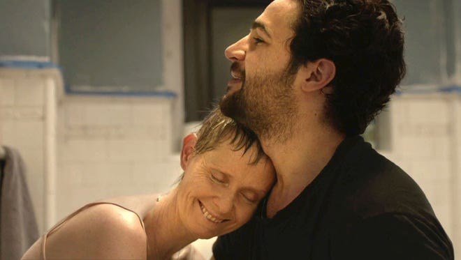 """Cynthia Nixon and Christopher Abbott star as mother and son in """"James White."""""""