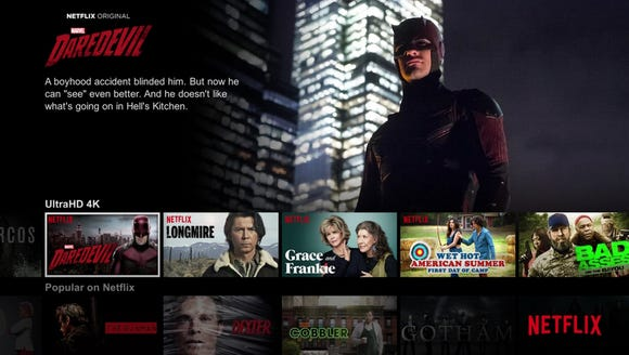 Netflix 4K Ultra HD channel