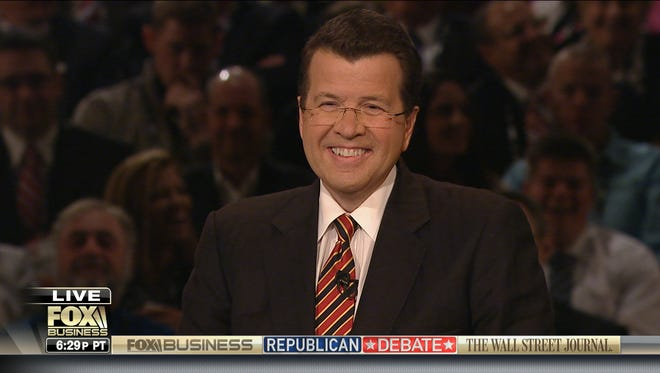 Neil Cavuto of Fox Business Network moderates a GOP primary debate in November, 2015.