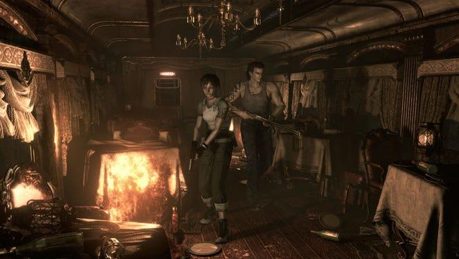 Resident Evil 0 HD Remaster.