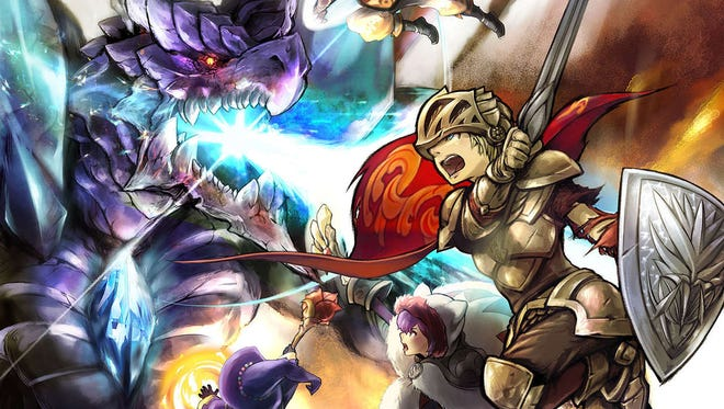 Final Fantasy Explorers mixes elements from the popular franchise with less technical Monster Hunter-style gameplay.
