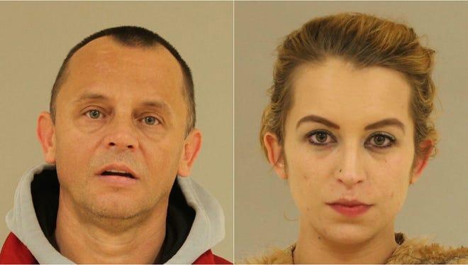 Ilderina Sakib Kajtezovic, 24, and her father, 45-year-old Sakib Kajtezovic.