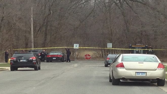 A man in his late teens was found dead Saturday, March 19, in Lions Park in Wyoming.