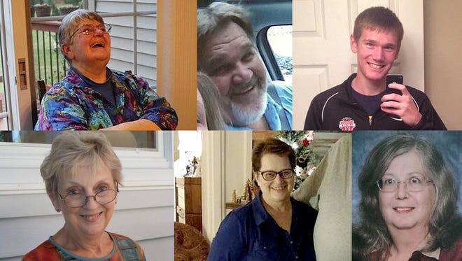 The victims of the Kalamazoo mass shootings.