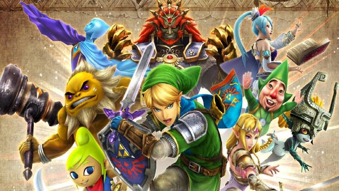 Hyrule Warriors Legends for the Nintendo 3DS.