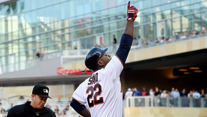 Miguel Sano is excited about Opening Day, too