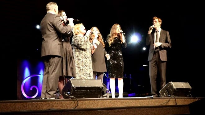 Sandi Patty performs on her Forever Grateful Tour. Her kids perform with her on this tour.