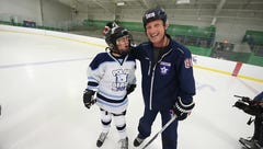 Veteran on a mission to inspire special needs kids with hockey