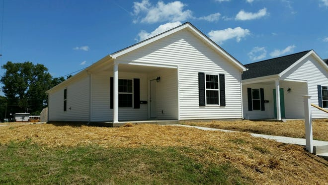 The Causey family is just days away from calling this new Habitat for Humanity house their home.