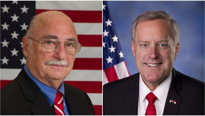 Rick Bryson, left, and Mark Meadows